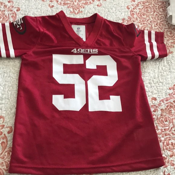 detailed look 26f8a a3791 49ers kids jersey